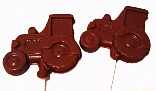 Tractor Lolly